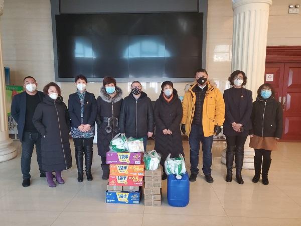 道里区委统战部、工商联积极发动统战人士为抗击疫情做贡献