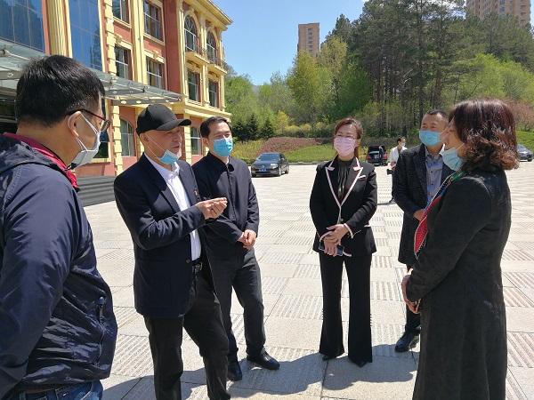 哈尔滨市工商联携潮汕商会助力五常防疫