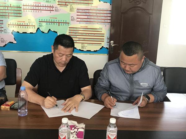 说一千道一万村民增收是关键-市工商联组织临海商会与贫困村签订消费扶贫协议