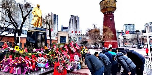 """哈尔滨市南昌企业商会开展纪念""""毛泽东诞辰127周年""""主题活动"""