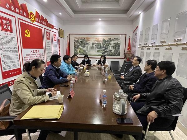 市委常委、统战部部长孙永文赴商会组织走访调研